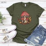 Vintage Mushroom  Graphic Unisex T Shirt, Sweatshirt, Hoodie Size S - 5XL