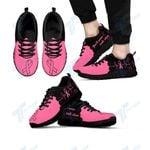 Breast cancer you'll never walk alone Sneakers