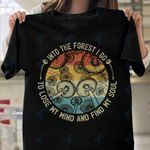 Mushroom into the forest i go Graphic Unisex T Shirt, Sweatshirt, Hoodie Size S - 5XL