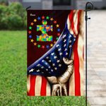 American Flag Accept Understand Love Puzzle Garden Flag, House Flag