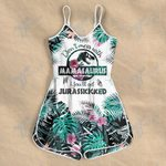 Don't mess with mamasaurus You'll be jurasskicked Rompers For Women