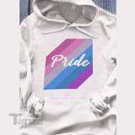 LGBT Pride Gray Graphic Unisex T Shirt, Sweatshirt, Hoodie Size S - 5XL