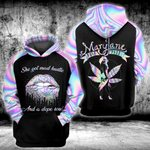 Weed Mary Jane Puff Pass 3D All Over Printed Shirt, Sweatshirt, Hoodie, Bomber Jacket Size S - 5XL