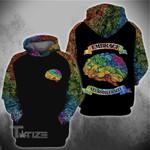 Embrace Neurodiversity 3D All Over Printed Shirt, Sweatshirt, Hoodie, Bomber Jacket Size S - 5XL
