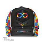 Autism Puzzle Infinity Classic Cap