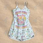 Psychedelic Happy Mushrooms Rompers For Women
