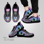 Weed leaf high maintenance hologram Sneakers