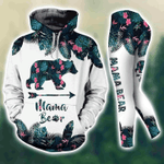 Mamabear 3D All Over Printed Hoodie/ Leggings/ Tank Top Size S - 5XL