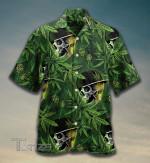 Weed Dad Weed Leaf Hawaiian Shirt