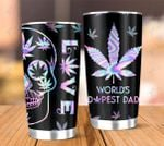 Weed World's Dopest Dad 20Oz, 30Oz Stainless Steel Tumbler