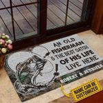 Custom Fishing An Old Fisherman & The Best Catch Of His Life Live Here  Doormat
