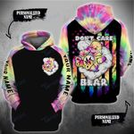 Weed Leaf Don't Care Bare American Flag Custom 3D All Over Printed Shirt, Sweatshirt, Hoodie, Bomber Jacket Size S - 5XL