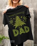 Weed dad Stoner dad dopest dad Graphic Unisex T Shirt, Sweatshirt, Hoodie Size S - 5XL