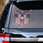 American flag eagle independence day Decal