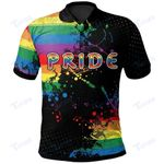 LGBT love is love All Over Print Polo Shirt