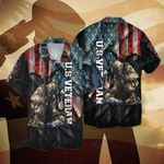 Veteran Happy independence day american 4th july All Over Printed Hawaiian Shirt Size S - 5XL