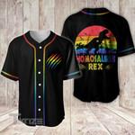 LGBT homosaurus rex Baseball Shirt