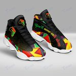 BLack juneteenth you'll never walk alone 13 Sneakers XIII Shoes
