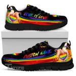 Custom Name Love Is Love Pride Lgbt custom name Sneakers Shoes