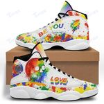 Lgbt Skull love 13 Sneakers XIII Shoes