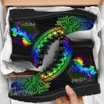 Pride Unicorn Rainbow Mandala Lgbt Classic Boots Shoes All Season Boots
