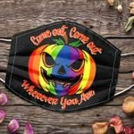 LGBT halloween come out come out Face Mask PM 2.5 3pcs