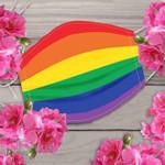 LGBT rainbow color Face Mask PM 2.5 3pcs