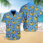 Funny Lgbt Banana All Over Printed Hawaiian Shirt Size S - 5XL
