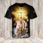 Jesus is my god my king my lord Baseball Shirt