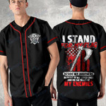 Viking i tand for my flag Baseball Shirt