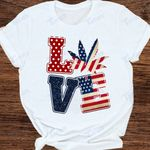 weed leaf independence day 4th july Graphic Unisex T Shirt, Sweatshirt, Hoodie Size S - 5XL