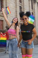 Weed lgbt rainbow color Graphic Unisex T Shirt, Sweatshirt, Hoodie Size S - 5XL