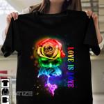 LGBT pride rainbow color Graphic Unisex T Shirt, Sweatshirt, Hoodie Size S - 5XL
