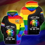 I dont need everyone approval to be me 3D All Over Printed Shirt, Sweatshirt, Hoodie, Bomber Jacket Size S - 5XL
