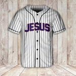 Jesus couple together since custom number Baseball Shirt