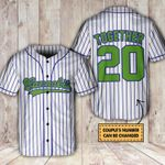 420 couple together since custom Baseball Shirt