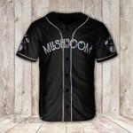 Eat mushrooms see the universe Baseball Shirt