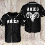 Awesome zodiac aries Baseball Shirt