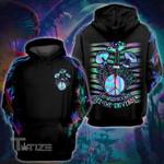 Mushroom Holo 3D All Over Printed Shirt, Sweatshirt, Hoodie, Bomber Jacket Size S - 5XL