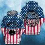 Mushroom USA Independence Day 3D All Over Printed Shirt, Sweatshirt, Hoodie, Bomber Jacket Size S - 5XL