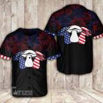 Mushroom USA Baseball Shirt