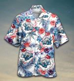 Weed USA Independence Day All Over Printed Hawaiian Shirt Size S - 5XL