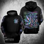 Weed Dope Hologram 3D All Over Printed Hoodie/ Zip Hoodie Size S - 5XL