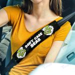 Weed dont care bear Seat Belt Covers