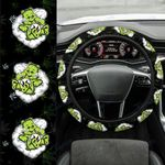 Weed dont care bear Car Steering Wheel Cover