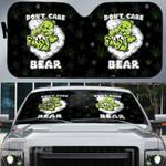 Weed dont care bear Car Windshield Sun Shade