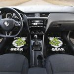 Weed dont care bear Car Front Mat