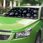 Weed leaf hologram pattern Car Windshield Sun Shade
