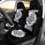 Weed dont care bear Car seat cover