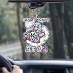 Weed dont care bear Car Ornament